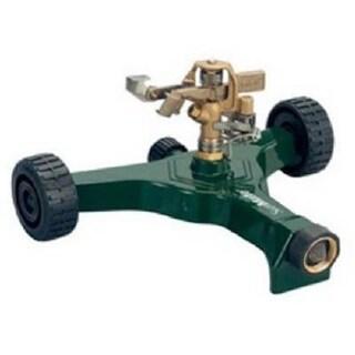 Fiskars 583676 Green Thumb Brass Pulsating Sprinkler