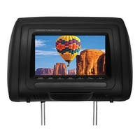 """Boss 7"""" Headrest Monitor Remote 3 Color skins"""