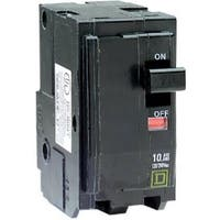 Square D QO250CP Double Pole Circuit Breaker, 50 Amp