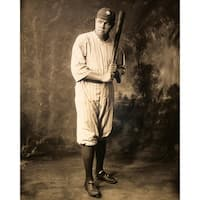 ''Babe Ruth, New York Yankees, 1920'' by McMahan Photo Archive Celebrities Art Print (10 x 8 in.)