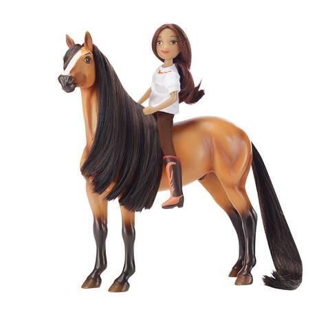 Breyer Spirit Riding Free Horse & Doll Gift Set - Spirit & Lucky