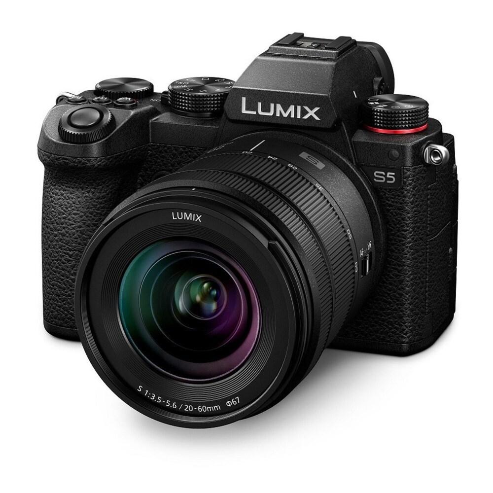 Panasonic LUMIX S5 4K Mirrorless L-Mount Camera with 20-60mm Lens (Black)