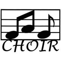"""Choir - Cardstock Laser Die-Cuts 4""""X6"""""""