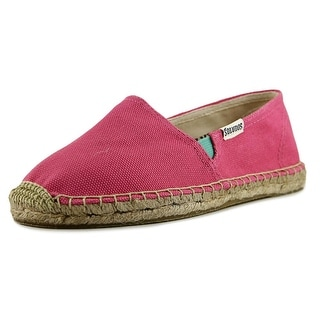 Soludos Original Espadrille Youth Round Toe Canvas Pink Espadrille