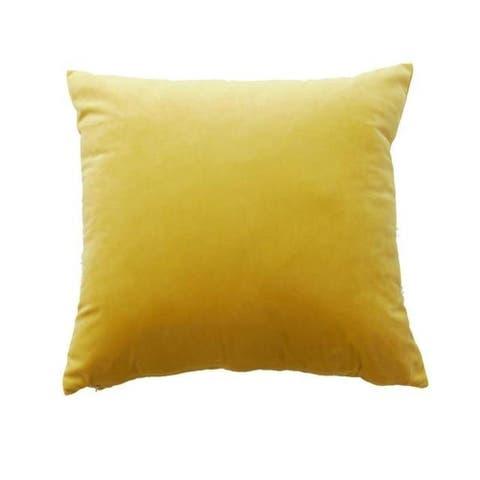 Velvet Pillow Case Sofa Waist Throw Cushion Cover-A70