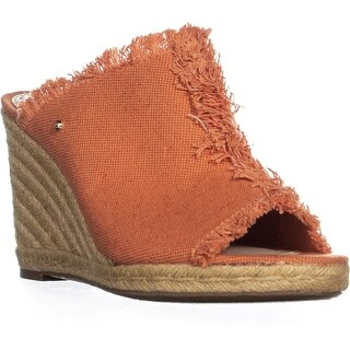Circus by Sam Edelman Baker Wedge Sandals, Sedona Orange