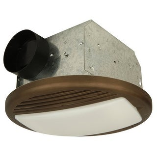 Craftmade TFV50L Modern 50 CFM Ventilation Fan / Light Combination from the Ventilation Collection
