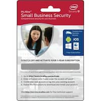 Intel McAfee Small Business Security BKCMSSB1YRENG McAfee Small Business Security