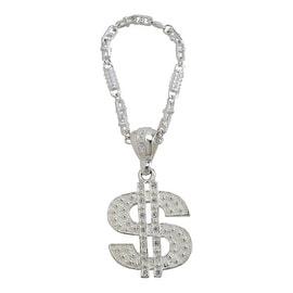 Pilot Automotive Silver Pendant Dollar Key Chain