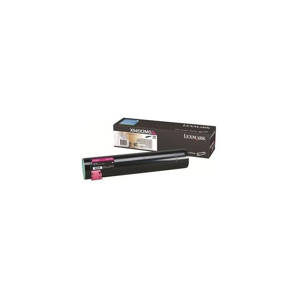 Lexmark High Yield Toner Cartridge - Magenta X945X2MG High Yield Toner Cartridge - Magenta
