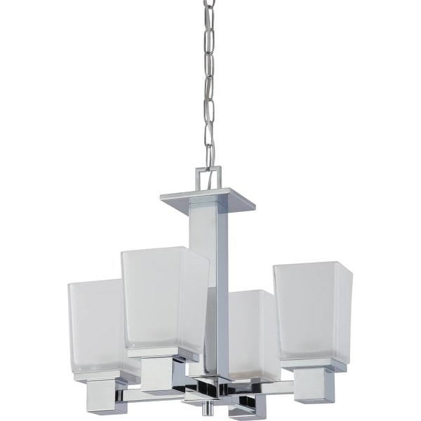 "Nuvo Lighting 60/4005 Parker 4 Light 18"" Wide Multi Light Pendant"