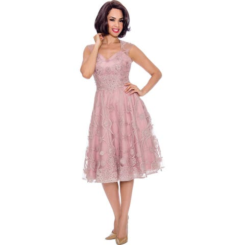 Annabelle Women's Bridesmaid Cocktail Party Occasion Dress