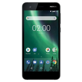 Nokia 2 TA-1035 8GB Unlocked GSM Phone w/ 8MP Camera - Black