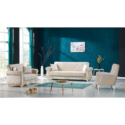 Zyra Living Room Set 3-2-1