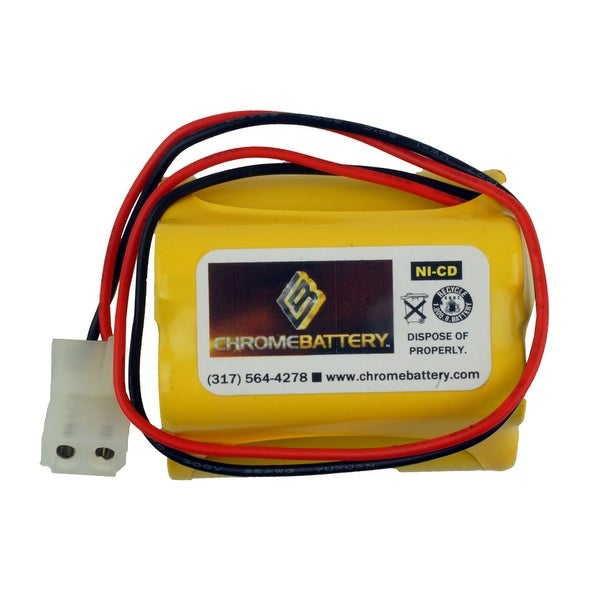 Emergency Lighting Replacement Battery for General Electric - 60410C5
