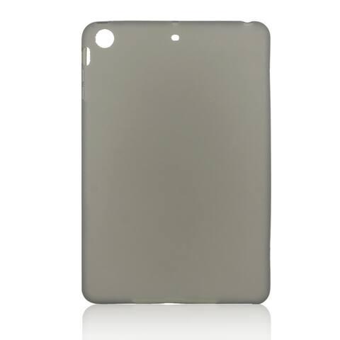 Dark Gray Soft Plastic Case Cover Shell Protector for iPad Mini