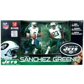 NY Jets McFarlane NFL Figure 2-Pack: Mark Sanchez & Shonn Greene