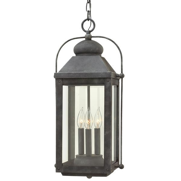 Hinkley Lighting 1852 Ll Anchorage 3 Light 11 Wide