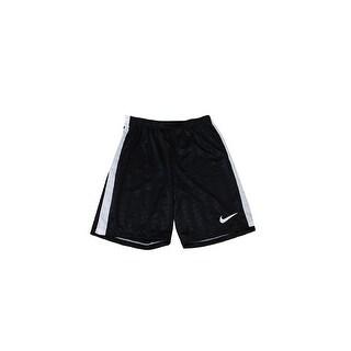 Nike Black White Mesh Inset Training Shorts S