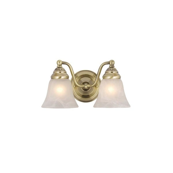 Vaxcel Lighting VL35122 Standford 2 Light Bathroom Vanity Light - 10.38 Inches Wide