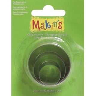 Round - Makin's Clay Cutters 3/Pkg