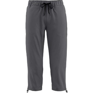Legendary Whitetails Ladies Wader Stretch Woven Capris - Charcoal