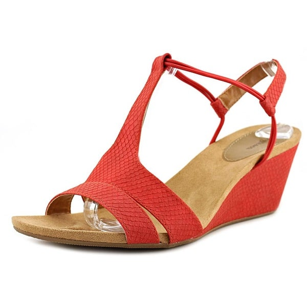 Style & Co Mitzeef Women Deep Red Sandals