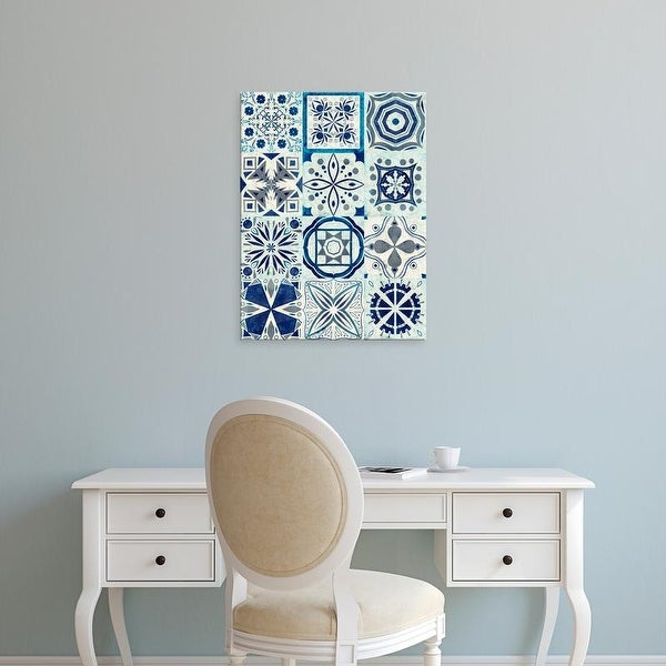 Easy Art Prints Victoria Borges's 'Kaleidoscope Tile III' Premium Canvas Art