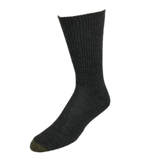 Gold Toe Men's Fluffies Soft Casual Socks, Shoe Size 6 - 12 1/2 - One Size