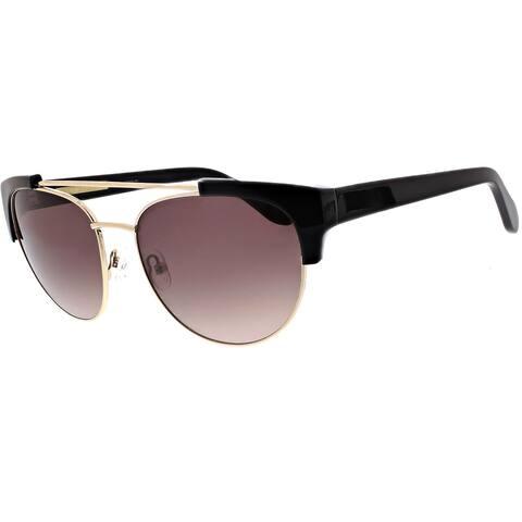 BCBGMAXAZRIA Womens Raised Bar Cat Eye Chic Wire Sunglasses - O/S