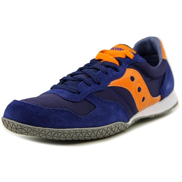 Saucony Bullet Men Round Toe Synthetic Blue Sneakers