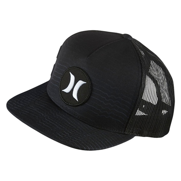e505a81aee5 Shop Hurley Black White Block Party Speed Men s Adjustable Baseball Cap Hat  295 - Free Shipping On Orders Over  45 - Overstock - 22372061