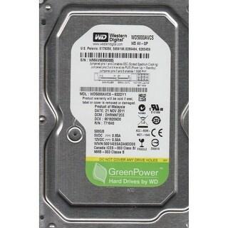 """Refurbished - Western Digital AV-GP WD5000AVCS 3.5"""" Hard Drive 500GB 16MB Cache SATA 3.0Gb/s"""