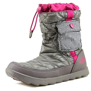 The North Face Thermoball Bootie   Round Toe Canvas  Winter Boot