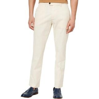 Tommy Hilfiger Mens Darren Casual Pants Custom Fit Flat Front - 34/30
