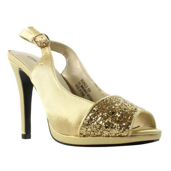 11e46b7aea1 Shop Annie Shoes Womens Xf3577-C6-W Gold Slingbacks Size 6 (C