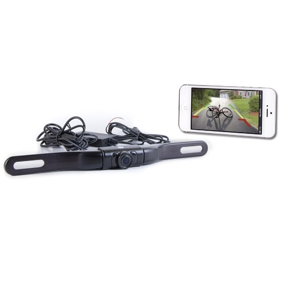 Top Dawg WiFi License Plate Backup Cam-iPhone/Android/Tablet - TDWIFIBC