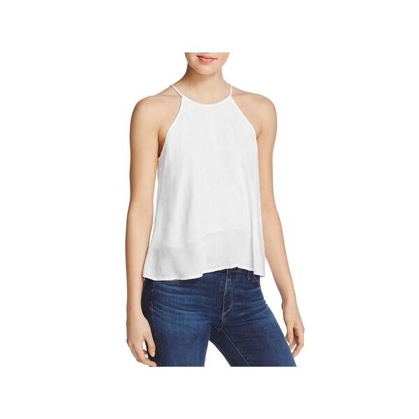 08f8608948 Shop Bella Dahl Womens Halter Top Strappy Back Tie Neck - Free ...