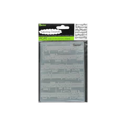 1216-68 darice emboss folder sheet music