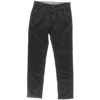 Calvin Klein Jeans Mens Slim Mid-Rise Straight Leg Jeans