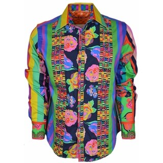Robert Graham Classic Fit THE RED SEA Pop Art Limited Edition Sport Shirt