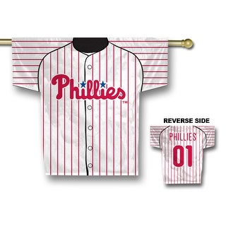 Fremont Die Inc Philadelphia Phillies Jersey Banner - 2-Sided Two Sided Jersey Banner