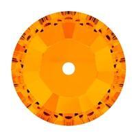 Swarovski Elements Crystal, 3128 Round Sew-On Stones Center Hole 3mm, 50 Pieces, Tangerine F