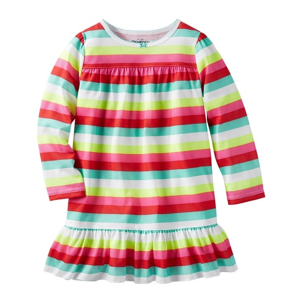 1517c4e12094 Shop OshKosh B gosh Big Girls  Striped Sleep Gown