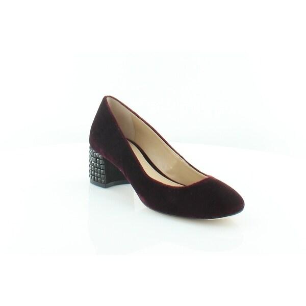 fe7ef368bd2 MICHAEL Michael Kors Arabella Kitten Pump Women  x27 s Heels Plum - 5.5