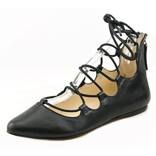 Nine West Sign Me Up Women  Open Toe Synthetic Black Sandals