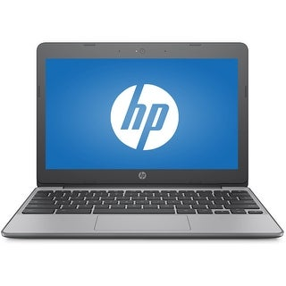 "Manufacturer Refurbished - HP 11-V010NR 11.6"" Laptop Intel Celeron N3060 1.6GHz 4GB 16GB Chrome OS"