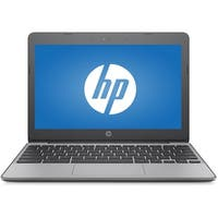 "Refurbished - HP 11-V010NR 11.6"" Laptop Intel Celeron N3060 1.6GHz 4GB 16GB Chrome OS"