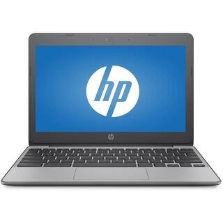 "Refurbished - HP 11-V012NR 11.6"" Laptop Intel Celeron N3060 1.6GHz 4GB 16GB Chrome OS"