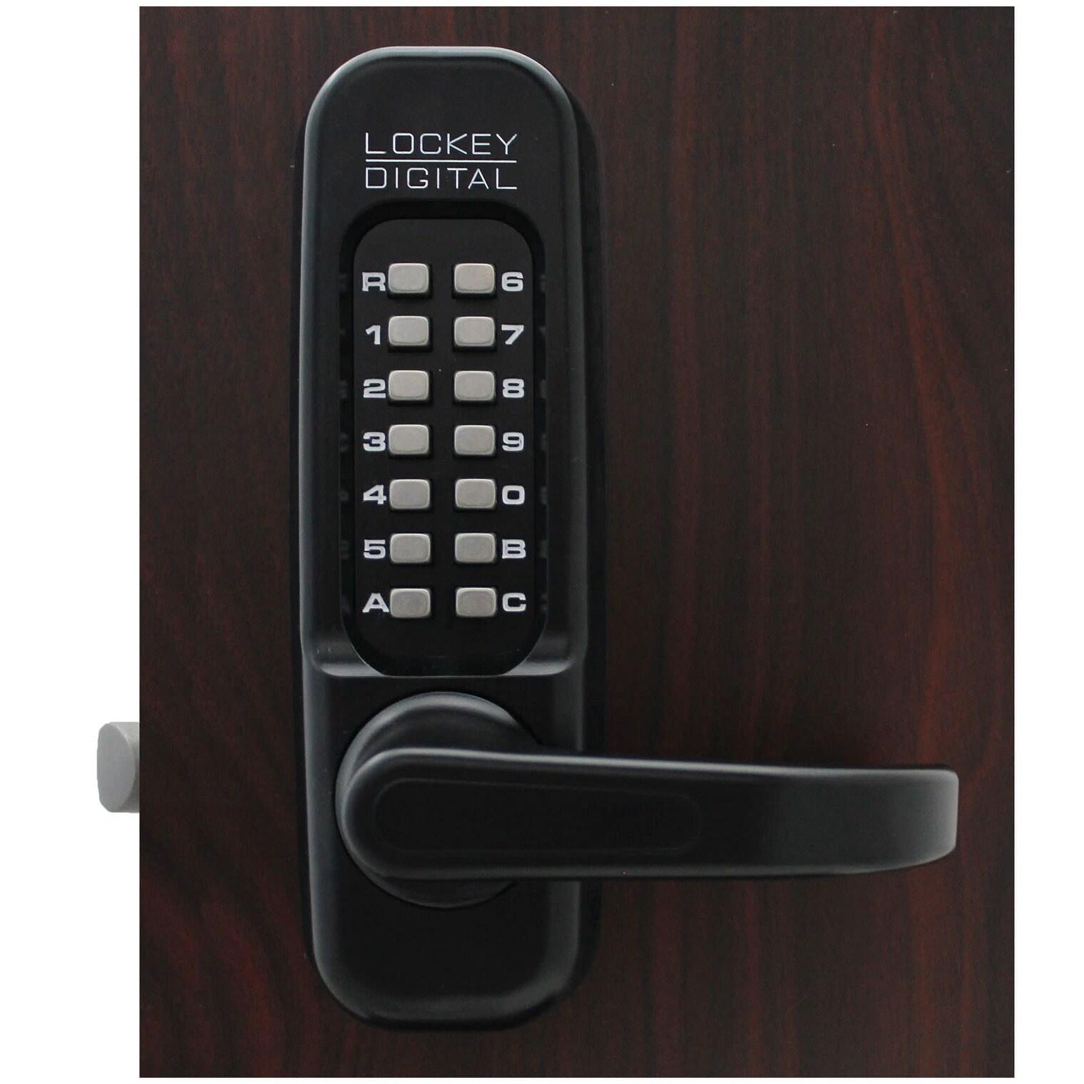 Left Handed Keyless Mechanical Door Lock Combination Security Keypad Entry Lock